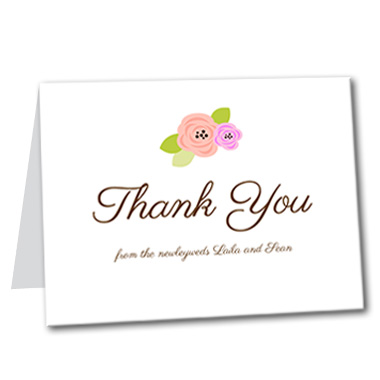 A Bloomed Occasion Thank You Card