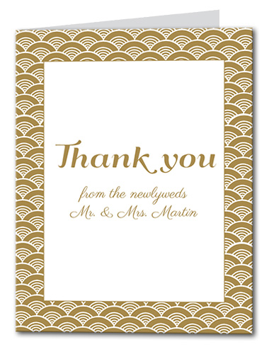 A Festive Event Thank You Card