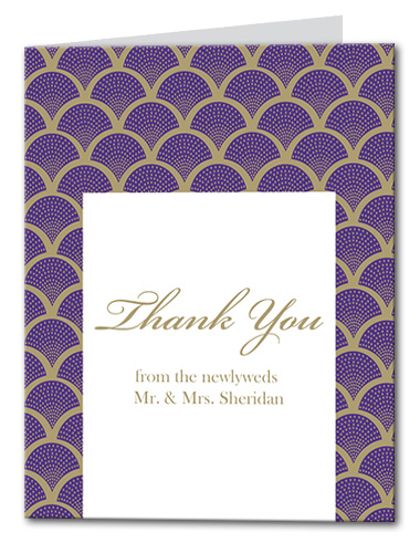 A Royal Gathering Thank You Card