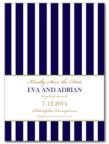A Sailing Affair Save the Date Card