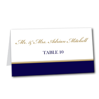 A Sailing Affair Table Card