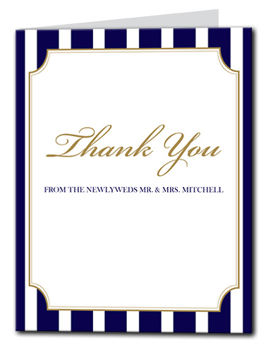 A Sailing Affair Thank You Card