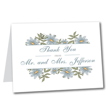 A Spring Fling Thank You Card