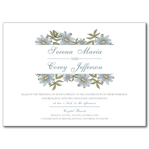 A Spring Fling Wedding Invitation