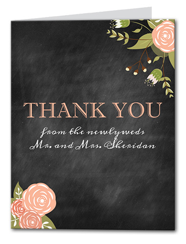 Adore You Thank You Card