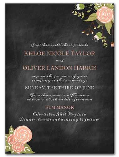 Adore You Wedding Invitation