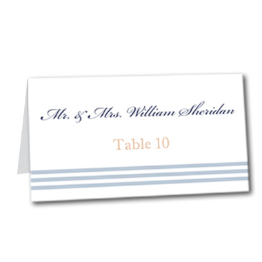 Airy Breeze Table Card