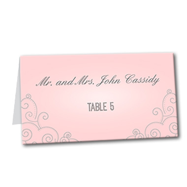 Always and Forever Table Card