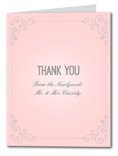 Always and Forever Thank You Card