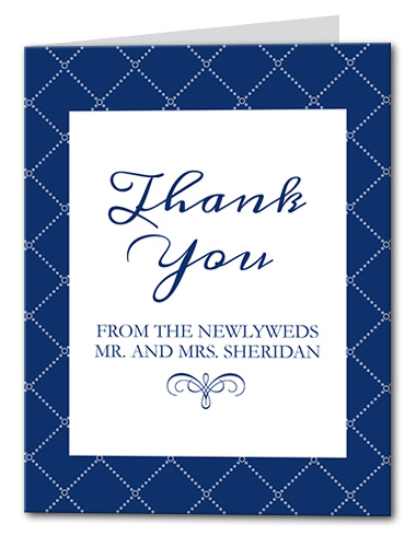 Aquatic Arrangment Thank You Card