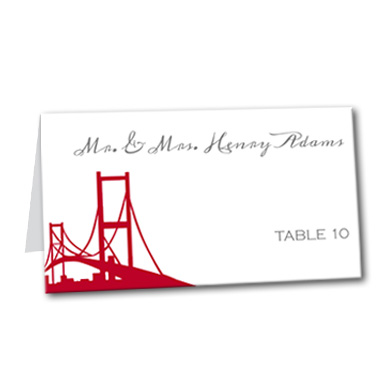 Bay Bridge Bay Table Card