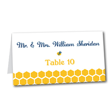 Bee's Knees Table Card