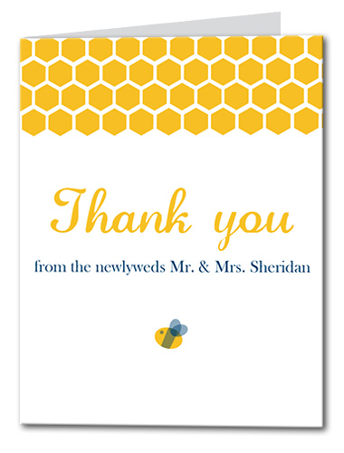 Bee's Knees Thank You Card