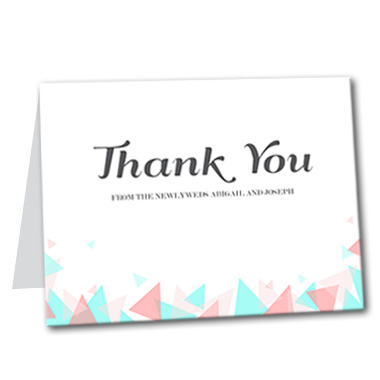 Beyond the Horizon Thank You Card