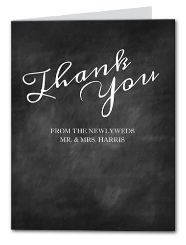 Blackboard Fun Thank You Card