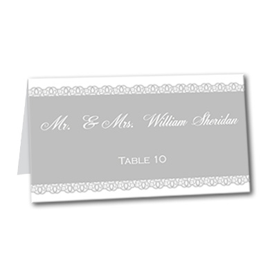 Boldy Stated Table Card