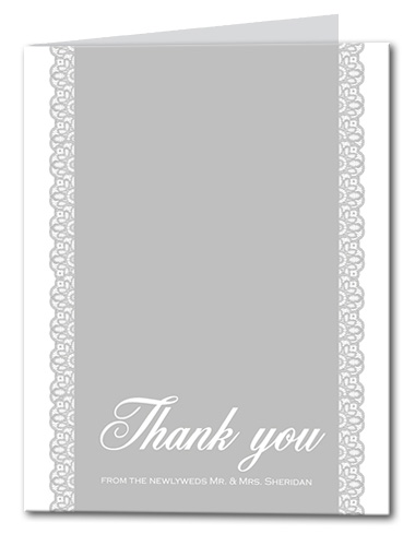 Boldy Stated Thank You Card