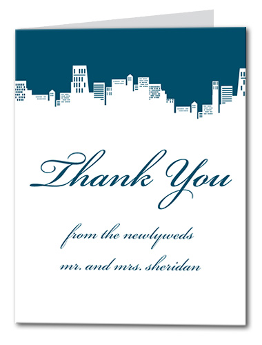 City Couture Thank You Card