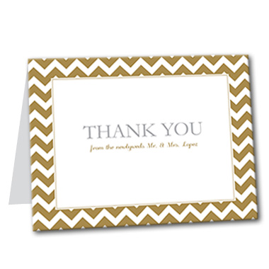 Classic Celebration Thank You Card