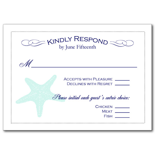 Coastal Breeze Response Card
