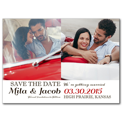 Cruising Love Save the Date Card