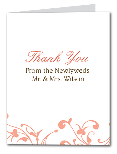Delicate Destiny Thank You Card