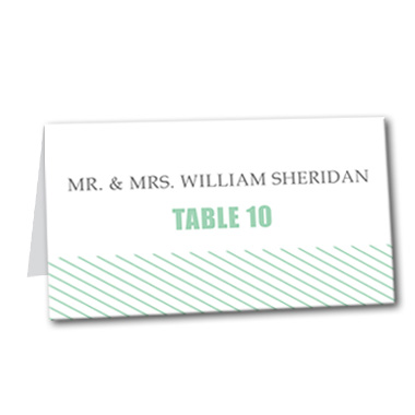 Delightful Destiny Table Card