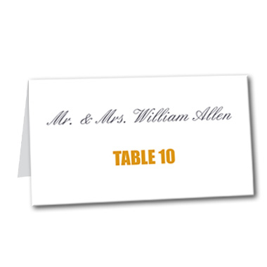 Divine Fall Table Card