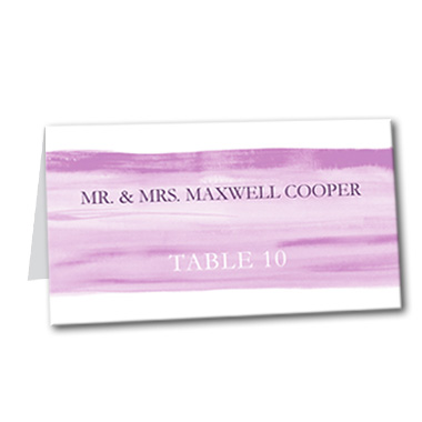 Everlasting Charm Table Card