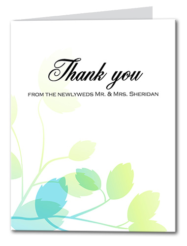 Fairy Forest Thank You Card
