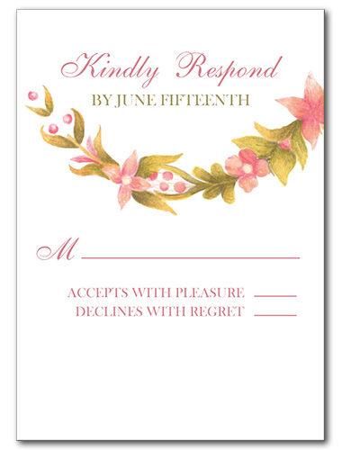 Fields of Love Response Card