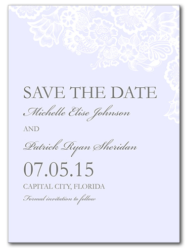 Floral Mystique Save the Date