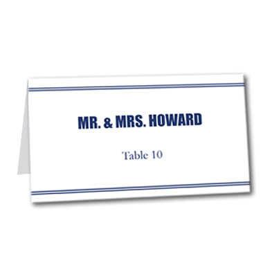 Forever Bold Table Card