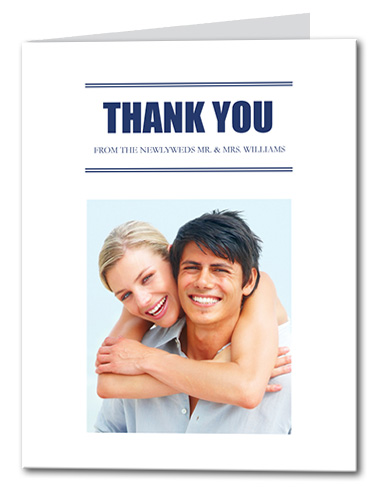 Forever Bold Thank You Card