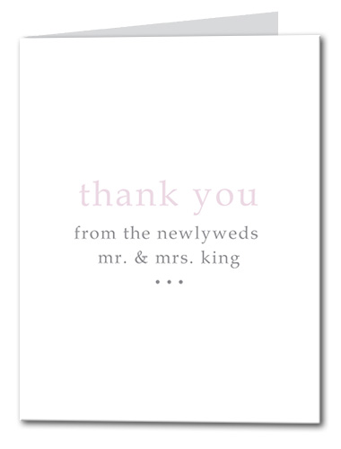 Forever and Always Thank You Card