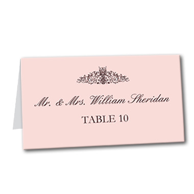 French Made Table Card