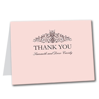 French Made Thank You Card