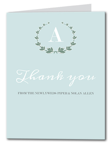 Fresh Mint Thank You Card