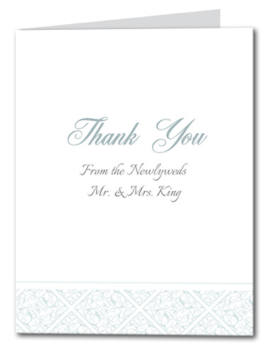 Gracious Glamour Thank You Card