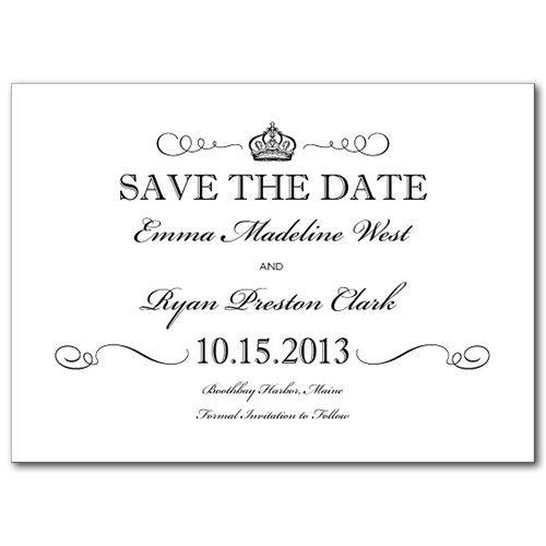 Grand Occasion Save the Date Card