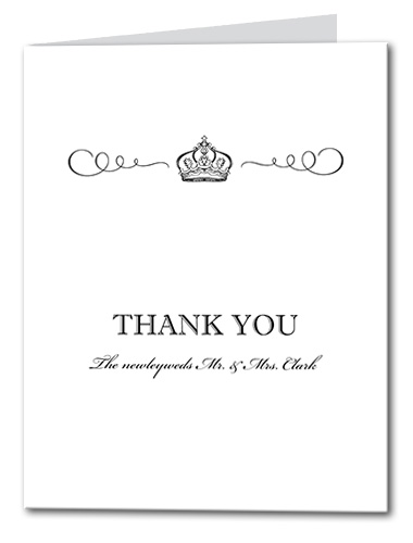 Grand Occasion Thank You Card