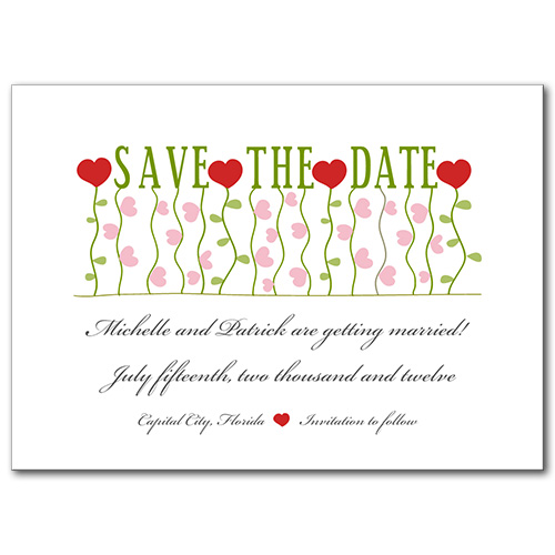 Growing Love Save the Date
