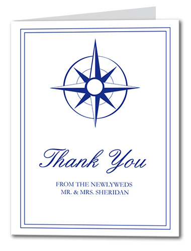 Guide the Way Thank You Card