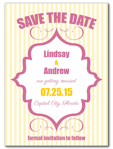 Hello Candy Save the Date