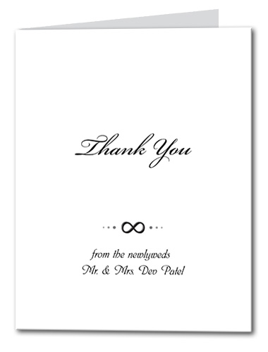 Infinite Love Thank You Card