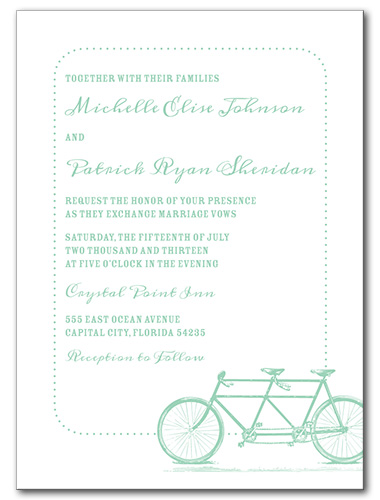 Joyful Journey Wedding Invitation