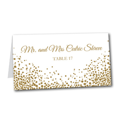 Let's Celebrate Table Card