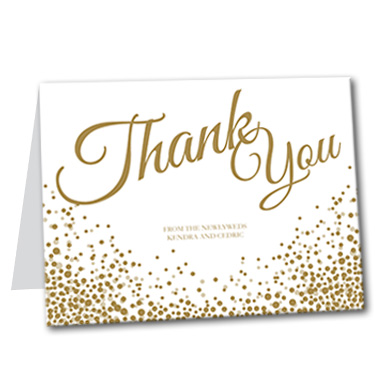 Let's Celebrate Thank You Card