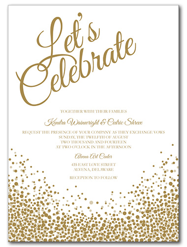 Romantic Wedding Invitation as luxury invitation template