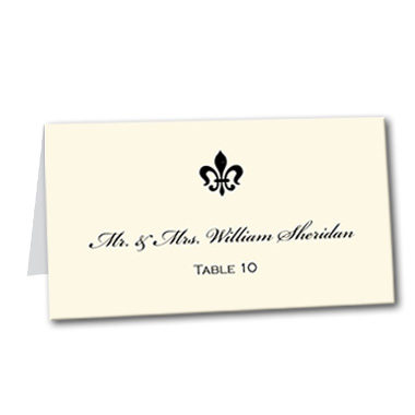 Light Luxury Table Card